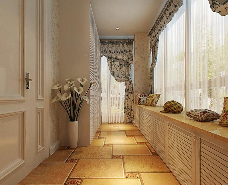 欧式阳台装修效果图  欧式 风格 阳台 设计案例