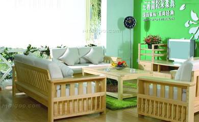 兰香阁松木家具:打造夏日清凉松木家具