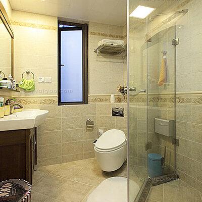 3平米卫生间装修效果图 3平方小卫生间效果图范例