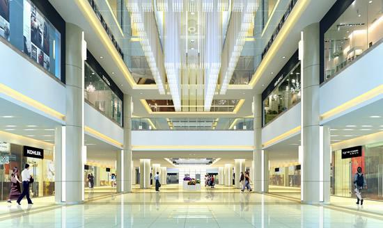 百货商场设计 商场效果图 商场设计怎样能吸引顾客?图片