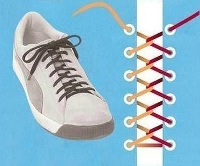 板鞋鞋带的系法图解 潮人创意8种板鞋鞋带系法