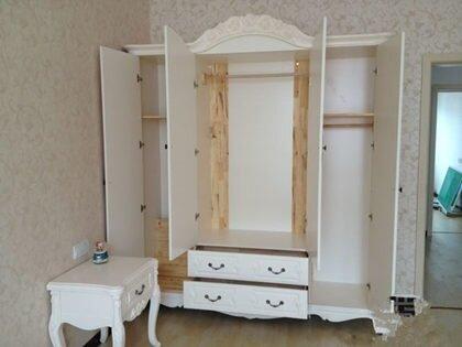 四门衣柜内部结构图 四门衣柜标准尺寸