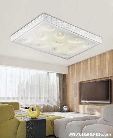 客厅灯长方形