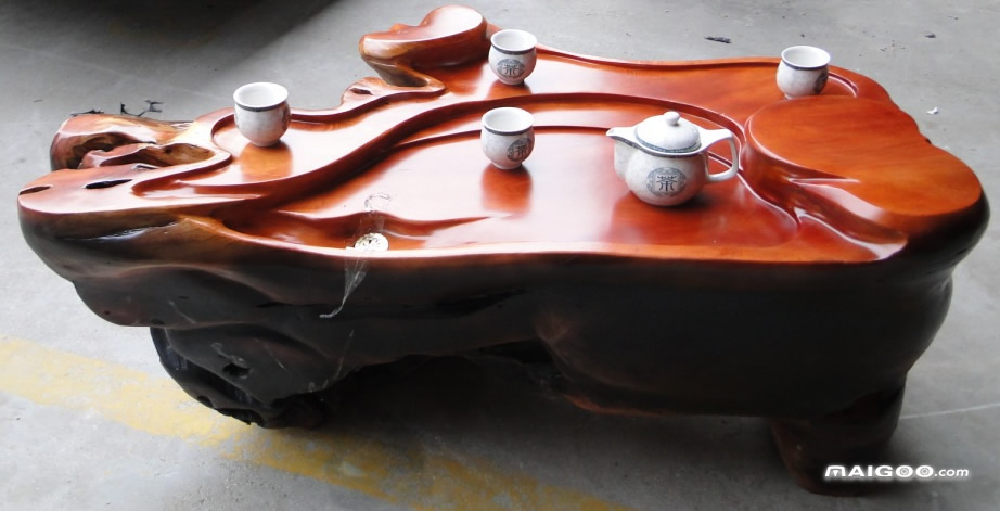 制作根雕茶几需要哪些根雕打磨电动工具 根雕茶几文化