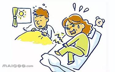 发生在小腿和脚趾的肌肉痉挛最常见,发作时疼痛难忍,尤其是半夜抽筋时图片