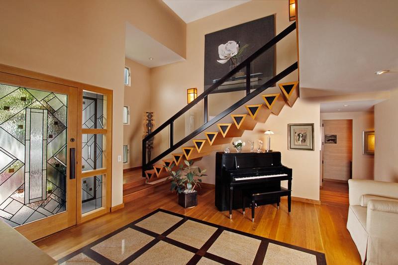 楼梯间装修设计 复式装修巧点睛