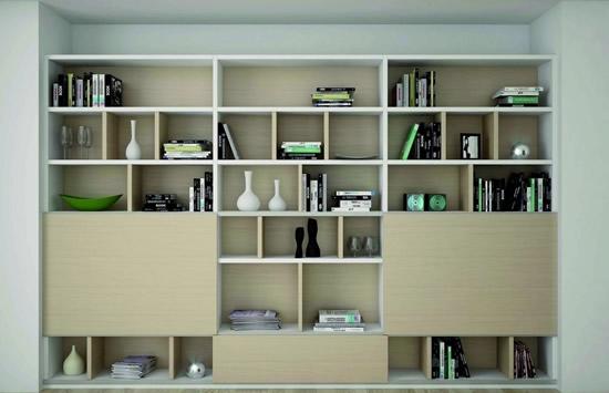 但这种模式生产出来的书柜不是尽寸不符合要求,就是款式不能满足个人图片