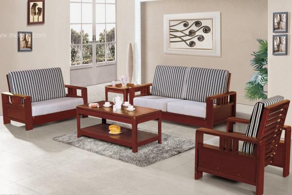 北欧实木沙发风格大全 北欧实木家具搭配装修案例图片